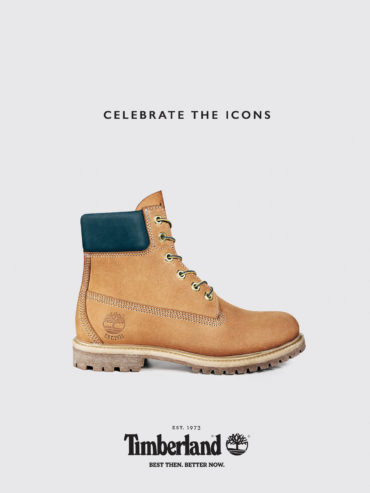 Timberland  45th Anniversary European Campaign